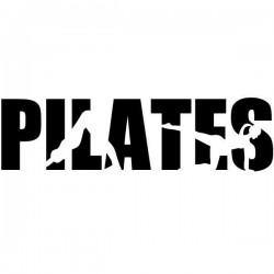 Autocolante silhuetas pilates