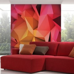 Papel pintado abstrato 3d