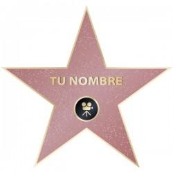 Autocolante estrela de Hollywood