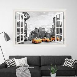 Janela decorativa Nova York