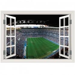 Adesivo janela falsa Santiago Bernabéu