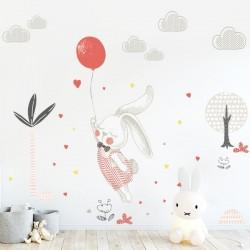 Vinil coelhinho con balão