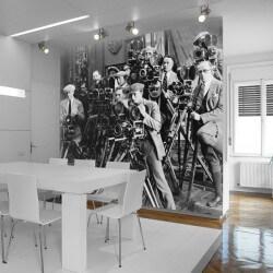 Mural de parede fotógrafos