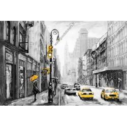 Mural pintura de Nova York