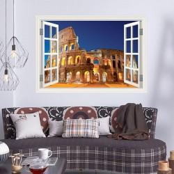 Janela Coliseo de Roma