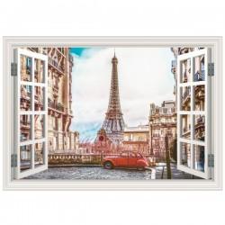Janela decorativa de Paris