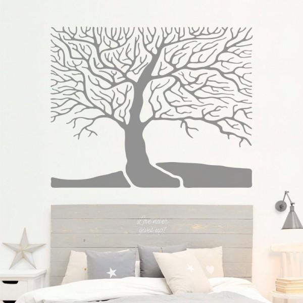 Vinil árvore cabeceira