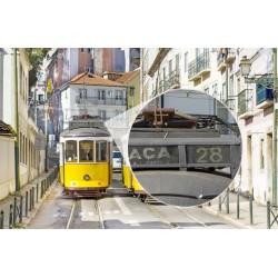 Mural eléctrico Lisboa