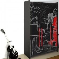 Vinil para móveis de músicos