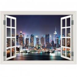 Adesivo janela falsa Nova York