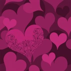 Adesivo para armários corações