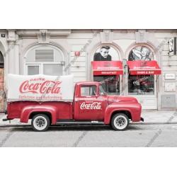 Mural decorativo Coca Cola