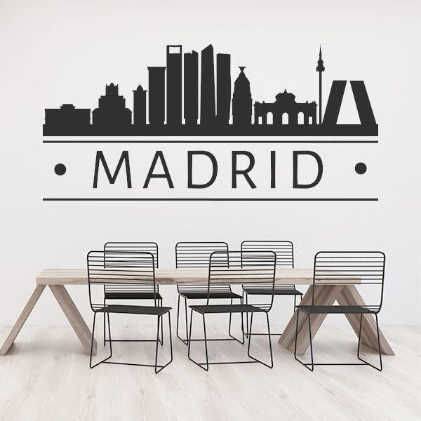 Vinil decorativo de Madrid