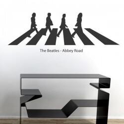 Vinil de parede the Beatles