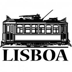 Vinil decorativo de Lisboa