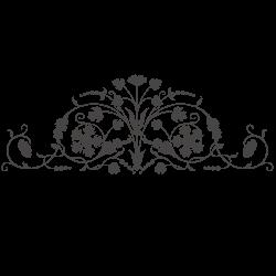 Vinil de parede ornamental 9