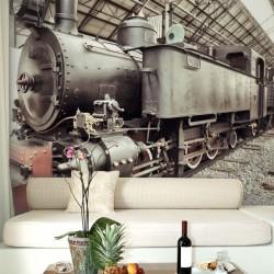 Papel de parede comboio...