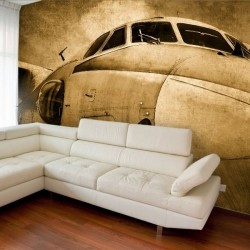 Mural de parede avião boeing