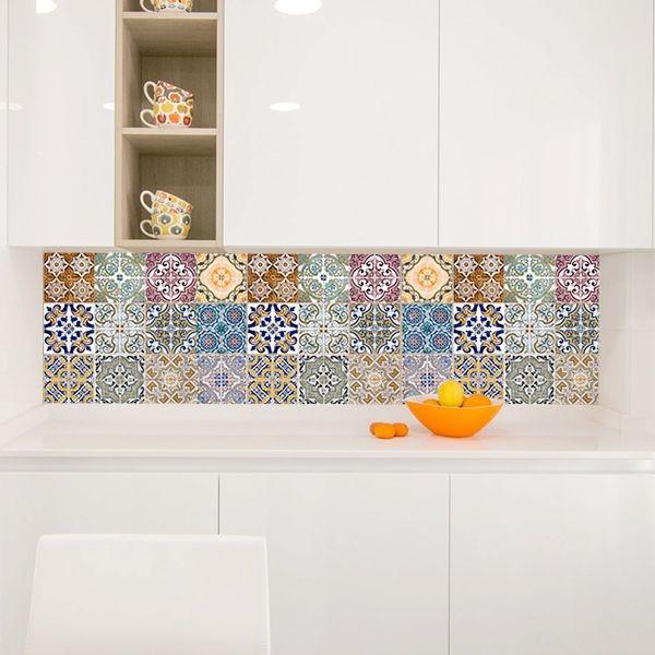 Autocolantes azulejos italianos