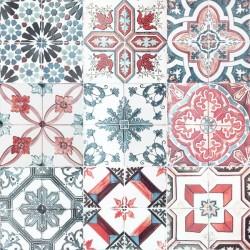 Vinil azulejos marroquinos