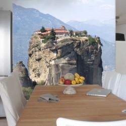 Foto mural casa na rocha