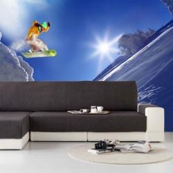 Papel de parede snowboard 2