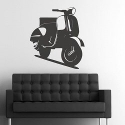 Vinil decorativo vespa