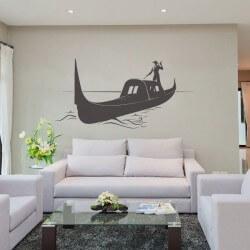 Vinil de parede barco