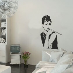 Vinil decorativo Audrey...