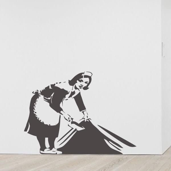 Vinil Banksy maid