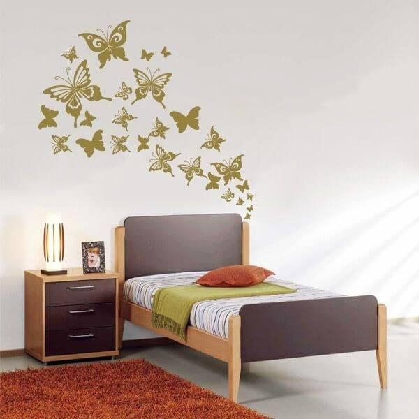 Vinil de parede borboletas 6