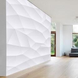 Papel de parede textura branca
