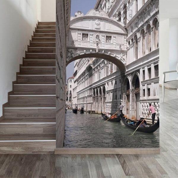 Foto mural ponte dos suspiros