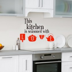 Vinil this kitchen, Love