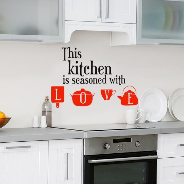 Vinil this kitchen, Love