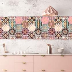 Autocolante azulejos