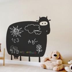 Vinil de vaca em lousa 2