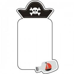 Quadro de escrever pirata