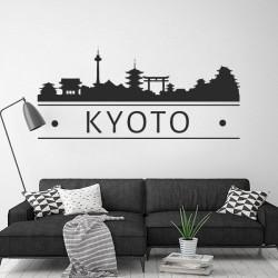 Autocolante skyline Kyoto