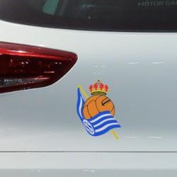 Autocolante para carro Real...