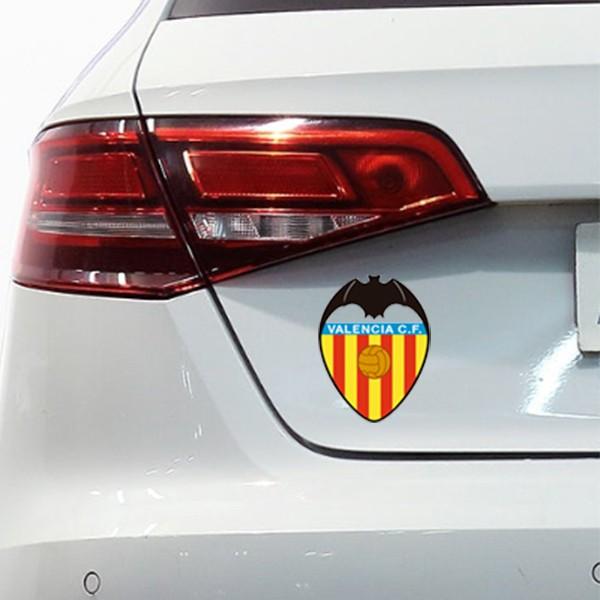 Autocolante para carro Valencia cf