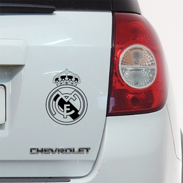 Autocolante escudo Real Madrid