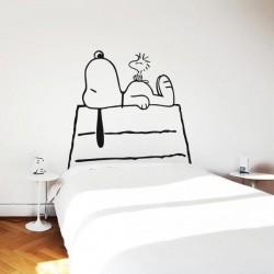 Vinil decorativo Snoopy