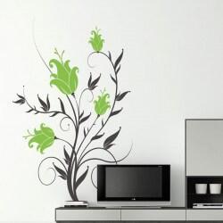 Vinil de flores lírios