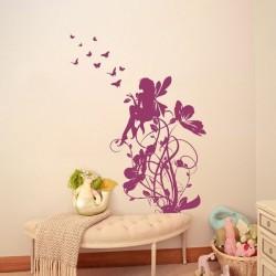 Adesivo de parede infantil fada 2