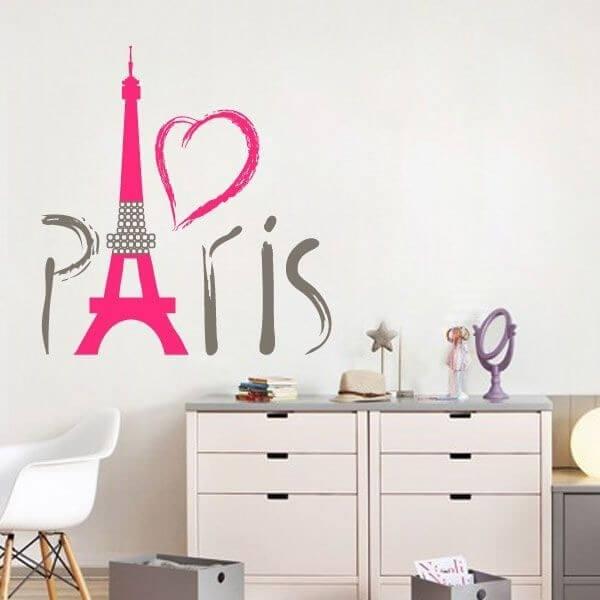 Adesivo de parede Paris 3