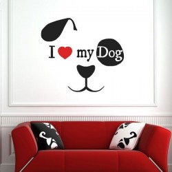 Vinil decorativo my dog