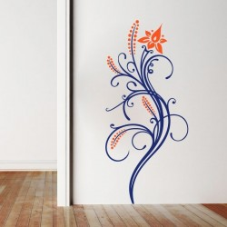 Vinil de parede floral 5
