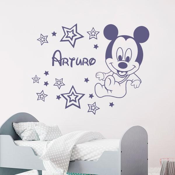 Autocolante Mickey Mouse bebê