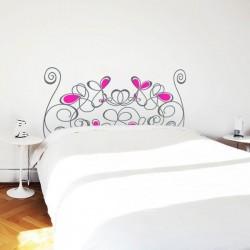 Vinil decorativo cama style